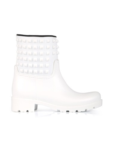 Oblavion Yağmur Çizmesi Beyaz